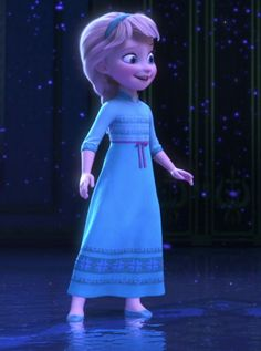 You VERY cute. | A Definitive Ranking Of 72 Disney Princess Outfits. Elsa is adorable!