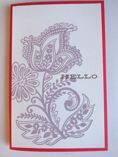 One of my new Spring 2012 stamps at Impress