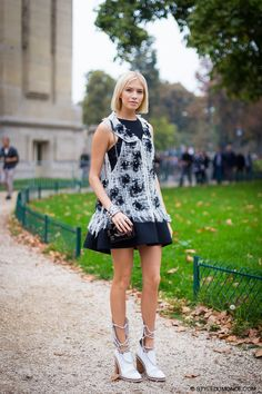 statement outfit with grunge boots