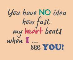 romantic, quotes, heart, beats, sayings, cute
