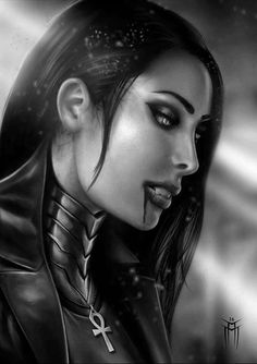 Explore the CLOSED VAMPS and Lycans collection - the favourite images chosen by on DeviantArt. Vampire Love, Female Vampire, Gothic Vampire, Vampire Queen, Vampire Art, Vampire Knight, Fantasy Art Women, Beautiful Fantasy Art, Dark Fantasy Art