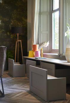 Shop the look: metamorfose aflevering 6 (najaar) - RTL Woonmagazine, Interior Decorating, Interior Design, Kids Corner, Home Hacks, Great Rooms, Room Inspiration, Kids Room, New Homes, Living Room