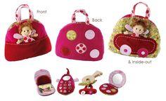 Lilliputiens Liz Reversible Handbag - UrbanBaby