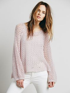 Intimately Waiting for a Girl Like You Cashmere Sweater at Free People Clothing Boutique