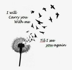 I will carry you will me till I see you again #CarrieUnderwood #Iwillseeyouagain #country #music