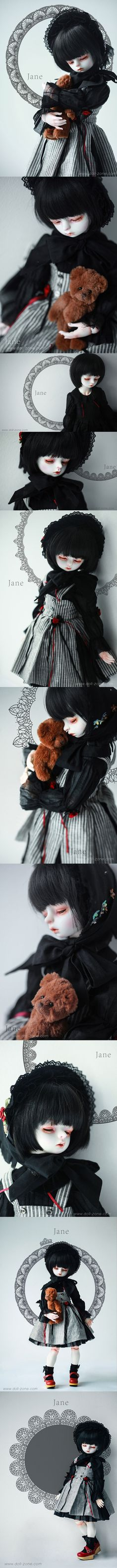 BJD Jane Girl 40cm DSD 1/4BB Ball-jointed Doll_44~45CM DOLLS_DOLLZONE_DOLL_Ball Jointed Dolls (BJD) company-Legenddoll