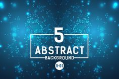 Abstract Circuit Wave Background Vol.1 - Freebies