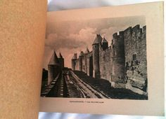 Vintage Carcassonne Photo Book by buddiet on Etsy, $200.00