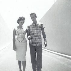 Cuban couple in the 1950s