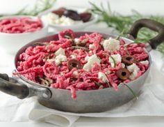 Pasta Salad, Cobb Salad, Feta, Spicy, Ethnic Recipes, Olive Recipes, Vegetarian Recipes, Kochen, Food Food