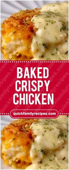 Baked Crispy Chicken#baked #crispy #chicken #easyrecipe #delicious #foodlover #homecooking #cooking #cookingtips