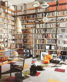 Full room shelves