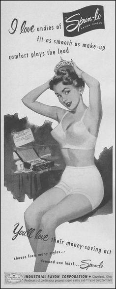 SPUN-LO RAYON FABRIC LIFE 04/30/1951 p. 42