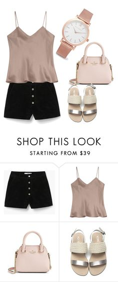 """""""Lazy baby"""" by stefineaa on Polyvore featuring MANGO, Etro, Kate Spade and Larsson & Jennings"""