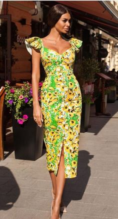 summer fashion 2019 to rock your winter style 42 Latest African Fashion Dresses, African Dresses For Women, African Print Dresses, African Print Fashion, African Attire, Ankara Fashion, Africa Fashion, African Prints, African Fabric