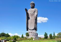 In 1993 when it was built, with its height of 120 meters, the Ushiku Daibutsu was the tallest statue in the world