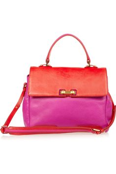 Marc by Marc Jacobs I asked for this handbag for Christmas Color-blocking is one of my all-time favorite trends of the past seasons