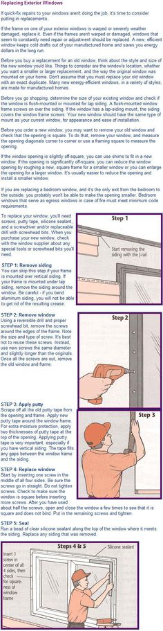 Replace Window Mobile Home Makeovers Renovations Exteriors