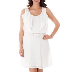 Little white dress- a must have for summer!