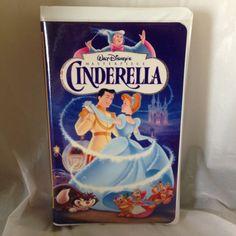 Cinderella (VHS, 1995) Disney Masterpiece Collection