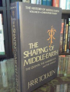 The History of Middle Earth Volume IV - J.R.R. Tolkien (1st Edition, Hardcover)