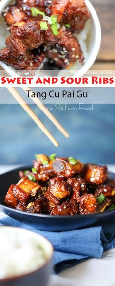 Sweet and Sour Ribs–Tang Cu Pai Gu | China Sichuan Food