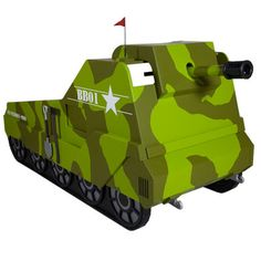Army Tank themed bed - The bed I want Heath to build for Devon.