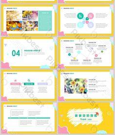 bright color geometric business universal ppt template Ppt Template, Templates, Bright, Business, Free, Color, Models, Colour, Template