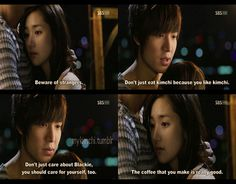 City Hunter, yes it happened like that and it sounds really stupid here, but it was a very good drama.