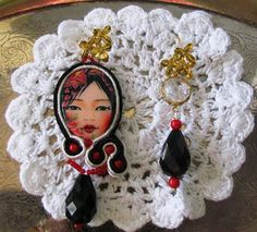 Lo Scrigno delle Perle: Orecchini Geisha