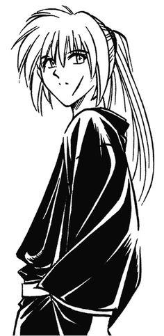 From Norbuhiro Watsuki's fantastic manga: Kenshin before his second scar. #RurouniKenshin #RuroKen