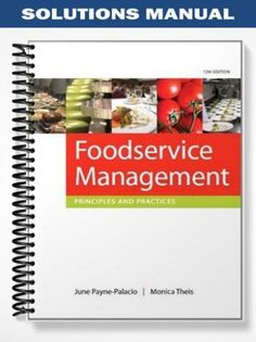 Solutions manual for essentials of accounting for governmental and find solutions manual foodservice management principles practices 12th edition june payne palacio at https fandeluxe Gallery