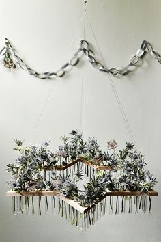 Test-Tube Wreath - Christmas Decorations to Make (houseandgarden.co.uk)