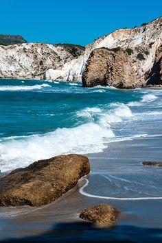 Fyriplaka beach in Milos - Greece