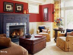 9 fantastiche immagini su soggiorno rosso | Soggiorno rosso ...