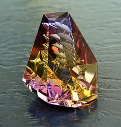 """Andrew Gulij - Faceting and Gem Carving Awards  - 2008 Gemmys Award - """"New Heights"""""""