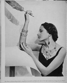 British Vogue  Princess Karam of Kapurthala by Cecil Beaton, 1937