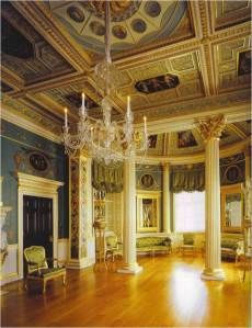 The Painted Room, Spencer House, London.