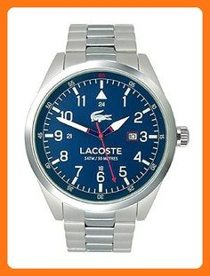 Lacoste Men's 2010783 Montreal Analog Display Japanese Quartz Silver Watch (*Partner Link)