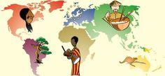 Pour celles qui voudraient s'aventurer à faire le tour du monde (...virtuel...), voici quelques ressources générales qui peuvent s'avérer être très utiles : photos par continent photos afrique phot...
