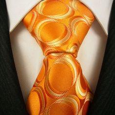 Orange tie...think we can get Scott to wear this? www.rooftight.ca