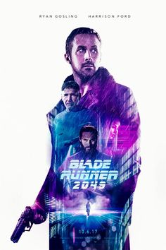 BLADE RUNNER 2049 – PosterSpy Film Poster Design, Movie Poster Art, Film Posters, Blade Runner Poster, Indiana Jones Films, Sci Fi Movies, Indie Movies, Action Movies, Arte Cyberpunk
