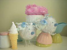 Blue Spring Chicks ~ Keepsake Cakes | Flickr - Photo Sharing!