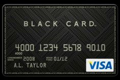 Credit Card Design, Black Card, Card Holder, Company Logo, Cards, Rolodex, Maps, Playing Cards