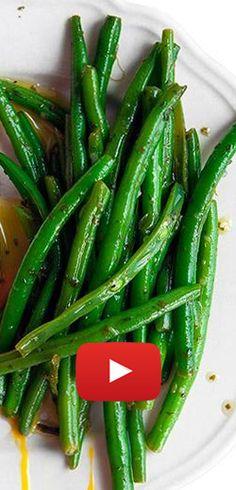 Recette simple de délicieux haricots verts. http://rienquedugratuit.ca/videos/recette-simple-de-delicieux-haricots-verts/