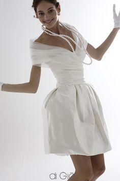 le spose di gio - fun wedding dress or getaway dress