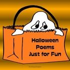 Halloween Poetry - Fun Poems for Reading and Writing  w/ Easel Activities