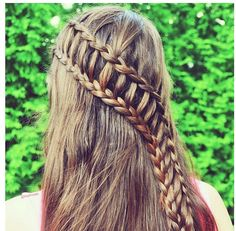 A cute and easy hairstyle for the girls!