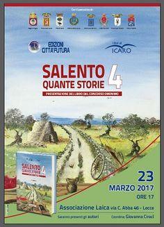 Arriva alla Laica di Lecce il libro Salento Quante Storie 4