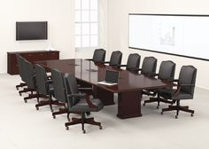 For office furniture with personality, choose Barrington Table Solutions from National Office Furniture
